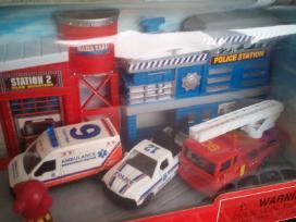 Policijos ir gaisrines rinkinys su masinomis - nuotraukos Nr. 3