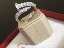 Cartier žiedas