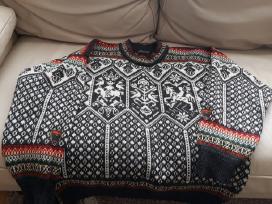 Rankų darbo Norvegų Dale firmos megztinis