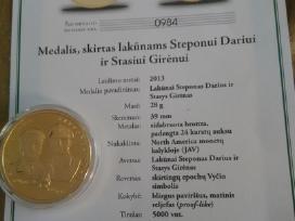 Medaliai monetos
