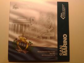 San marino euro monetų rinkiniai - nuotraukos Nr. 4
