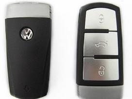 Volkswagen raktai korpusai mygtukai raktas pulteli - nuotraukos Nr. 2