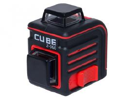 Lazerinis nivelyras gulsčiukas Cube 2-360, Ada