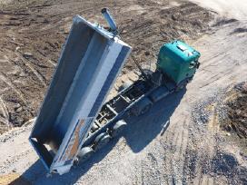 Žvyras smėlis gruntas skalda juodžemis Pristatymas - nuotraukos Nr. 4