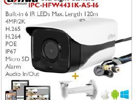 Dahua Ip 2k Kamera su Audio In/out, 4mp H.265 Ip67