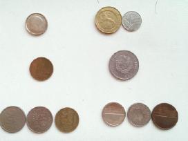 Įvairios monetos