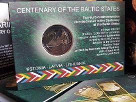 Estijos valstybės atkūrimo 100-čiui 2 € kortelėje - nuotraukos Nr. 3