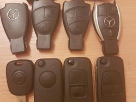 Mercedes benz raktai korpusai Pultelis raktas