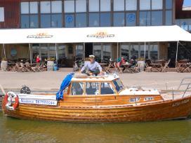 Kelionė jachta prie Didžiosios kopos Nidoje