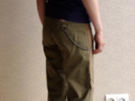 Chaki kelnės Only Jeans 32 - nuotraukos Nr. 3