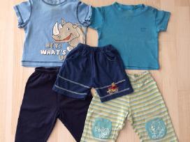 Marškinėliai, kelnės, šortai 74 - 80 cm 5 vnt. - nuotraukos Nr. 2