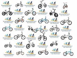 Naujų BMX dviračių pardavimas