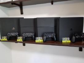 Naudotos Sony Playstation 4 Konsolės Su Garantija