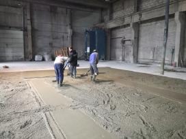 Pramoniniu grindu betonavimas ir smėlbetonis - nuotraukos Nr. 2