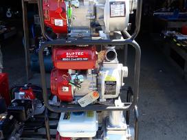 Benzininis vandens siurblys , motopompa - nuotraukos Nr. 2