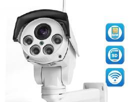 Nauja Ip lauko kamera su Gsm Sim kortele 3g, 4G