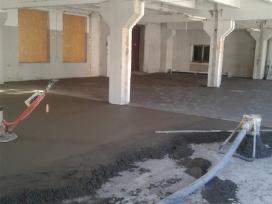 Betonavimas, pramoninis betonavimas. - nuotraukos Nr. 2