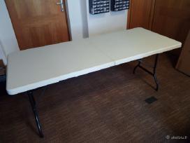 Sulankstomas stalas,suoliukas 180cm , 240cm, 120cm