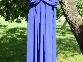 Mėlyna lengva suknelė