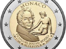 2 eurų Monako Unc proginės monetos