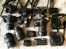 Profesionalus fotoaparatu remontas