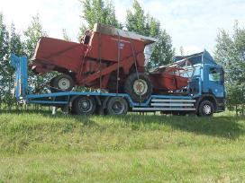 Tralas Platforma, Krovinių Traktorių vežimas 16,5t - nuotraukos Nr. 3