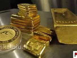 Perka brangiai auksą,monetas, dirbinius