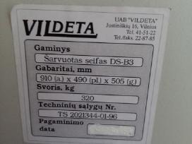 Kokybiškas Šarvuotas seifas 320 kg svorio! - nuotraukos Nr. 3