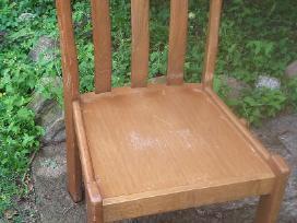 6 tvirtos ąžuolinės kėdės - nuotraukos Nr. 3