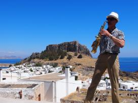 Saksofonistas - nuotraukos Nr. 3