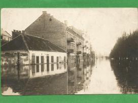 Foto - Vilnius. Potvynis. 1931m. Reta.