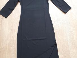 Juoda aptempta suknelė 38 dydis - nuotraukos Nr. 2