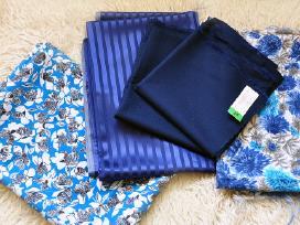 Kokybiški audiniai medžiagų likučiai siuvimui - nuotraukos Nr. 3