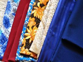 Kokybiški audiniai medžiagų likučiai siuvimui - nuotraukos Nr. 2
