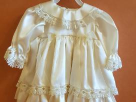 Krikšto (proginė) suknelė 3-6 mėn. (62-68 cm)