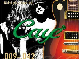 Itališkos Caye gitaros stygos. - nuotraukos Nr. 2