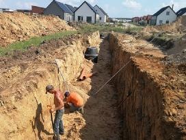 Kanalizacijos Vandentiekio įrengimas, Siurblinės - nuotraukos Nr. 3