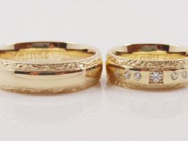 Vestuviniai ir sužadėtuvių žiedai
