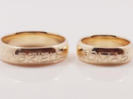 Vestuviniai ir sužadėtuvių žiedai - nuotraukos Nr. 2