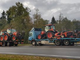 Tralas Platforma, Krovinių Traktorių vežimas 16,5t - nuotraukos Nr. 2