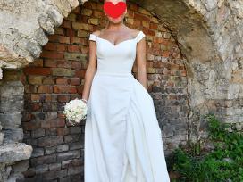 Parduodu dailę, kokybišką vestuvinę suknelę