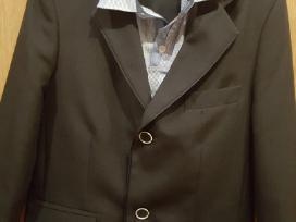 2 dalių kostiumas berniukui ir marškiniai dovanų - nuotraukos Nr. 2