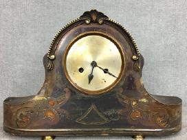 Žalvarinis stalinis laikrodis