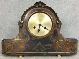 Žalvarinis stalinis laikrodis - nuotraukos Nr. 2