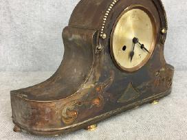 Žalvarinis stalinis laikrodis - nuotraukos Nr. 3