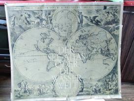 Senų žemėlapių kopijos