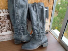 Pigu.italiski nauji tikros odos ilgaauliai batai - nuotraukos Nr. 3