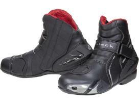 Motociklininko batai Black Circuit, Teknic