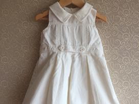 Balta suknelė - sarafanas 18-24m