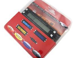 Automobilio Termometras Voltmetras Laikrodis - nuotraukos Nr. 3
